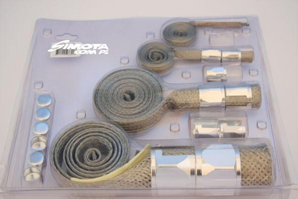 Oploty przewodów SIMOTA - SILVER - GRUBYGARAGE - Sklep Tuningowy